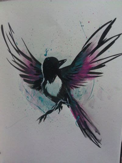 magpie tattoo design 25 best ideas about magpie on magpie