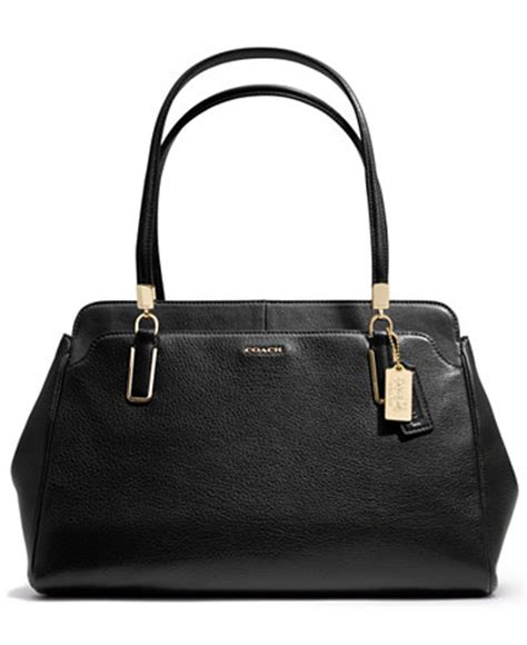 coach carryall in leather coach