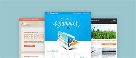 30 Awesome Email Newsletter Psd Templates Wdexplorer Email Blast Design Templates