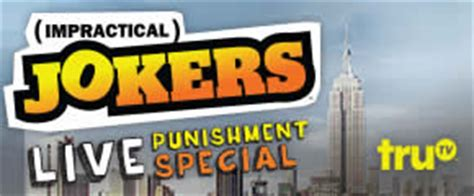 Trutv Sweepstakes - trutv impractical jokers live punishment special house party i crave freebies