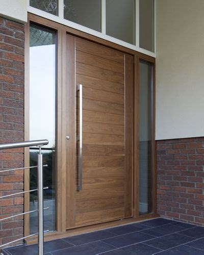 Walnut Front Door Front Contemporary Front Doors Uk Finishes E Range American Black Walnut Front