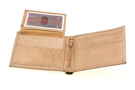 Cowhide Wallet - mens wallet bifold removable id cover genuine leather