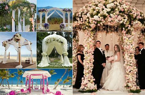Wedding Arch Types by Best Decoration For Wedding Arch