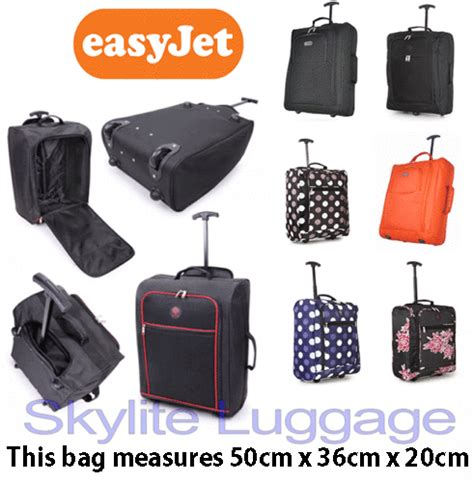 Cabin Luggage Dimensions Easyjet by 50x40x20 Easyjet Trolley Cabin Approved Wheeled