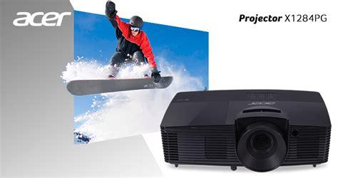 Proyektor Acer Termurah murah berkualitas bergaransi projector acer x1284pg xga 3600ansi 1 th els computer toko