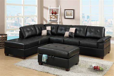 eco leather sectional sofa pdx520 leather sectionals