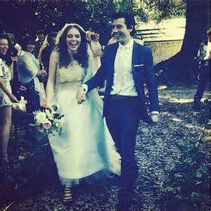 Angela scanlon got married in county wicklow
