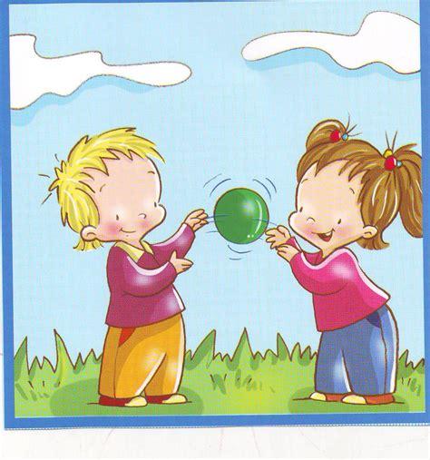 imagenes de niños jugando en el jardin de infantes ni 241 os jugando clipart imagui