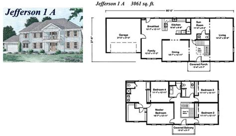2 story colonial modular home builders massachusetts