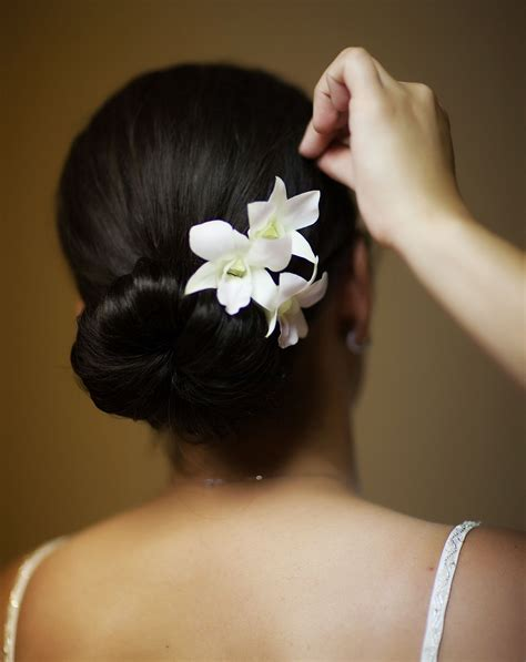 Wedding Hair With Orchids by Wedding Hair With Orchids Fade Haircut