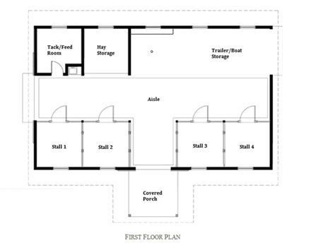 barn floor plan barn floor plan stall 1 retrofitted as a chicken coop 2