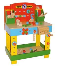 work bench toys children s tobi wooden work bench wooden workbench