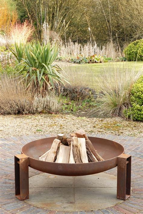 Contemporary Firepits Vulcan Pit A Firepit To Stand Around The Height For A Warming On An