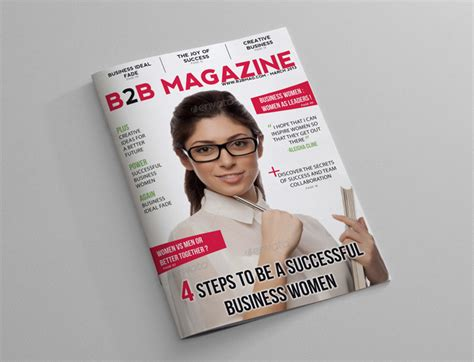 business magazine template business magazine template 24 pages magazines
