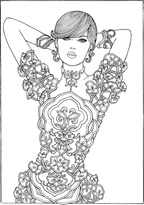 coloring books for adults exles welcome to dover publications free sle join fb