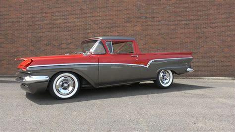 Truck Upholstery Shop 1957 Ford Ranchero Custom Pickup 174641