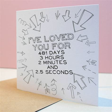 what to write in valentines card i loved you for personalised card by letterfest
