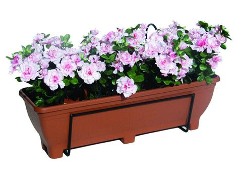 Planter Holder For Railing by Railing Planter 226 For Railings Balconies Or Fences