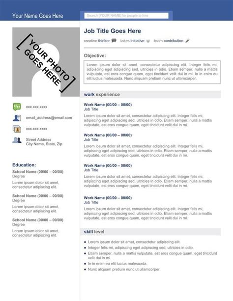 stand out resume templates free discover and save creative ideas