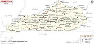 map of kentucky kentucky city map kentucky kentucky and city maps