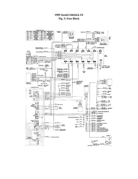 97 Geo Tracker Engine Wiring Diagram - Wiring Diagram Networks