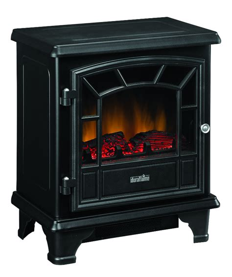 20 duraflame black stove electric fireplace