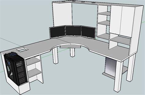 blkfxxs computer desk build home office pinterest