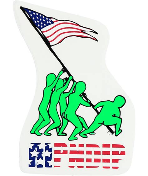 Sticker Rip N Dip 7 ripndip we out here for america sticker