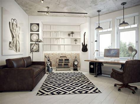 Formidable Salle De Bains Design Luxe #9: Bureau-appartement-moderne-design.jpg