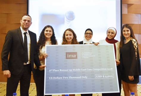 Mba In Finance In Dubai by Ima Announces Middle East Student Competition Winners