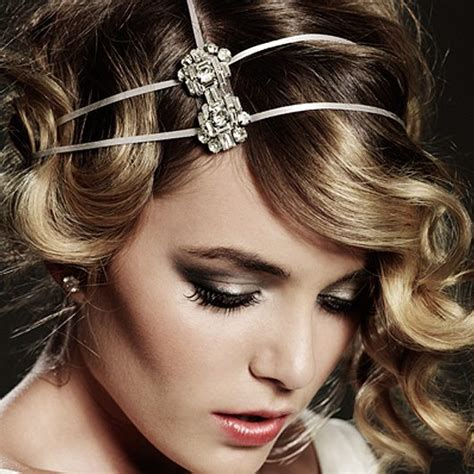 great gatsby hairstyle long hair newhairstylesformen2014 com 1920s headband cosmo deco weddings