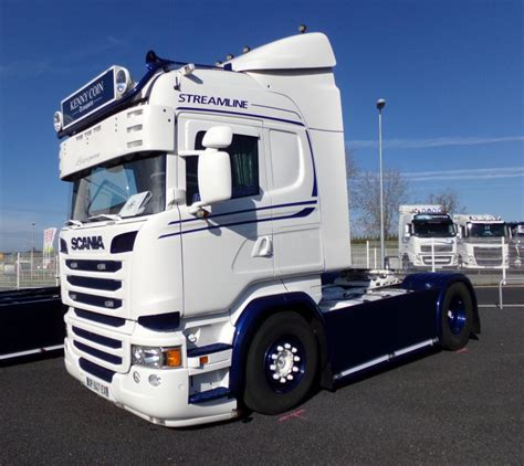 kenny trucking truck coeur aurillac 2016 transports kenny coin scania