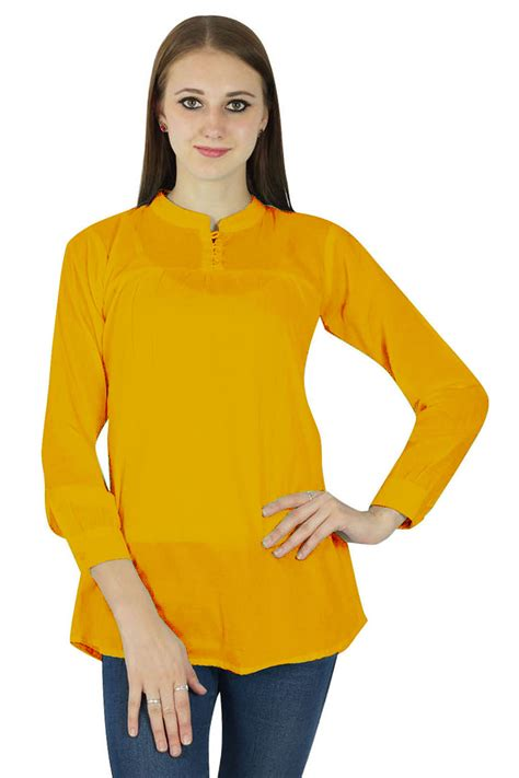 Aeon 01 T Shirt Sleeve Avail In 15 Colours t shirts tops phagun casual tunic sleeves top cotton summer blouse yellow