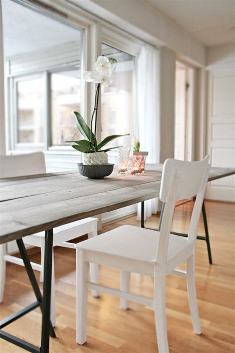 Trendy Dining Tables 38 Diy Dining Room Tables Page 2 Of 4 Diy