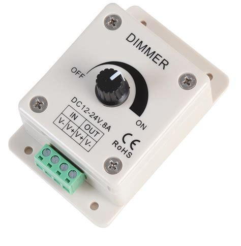 powerpax led dimmer led dimming driver 12v 24v 8a