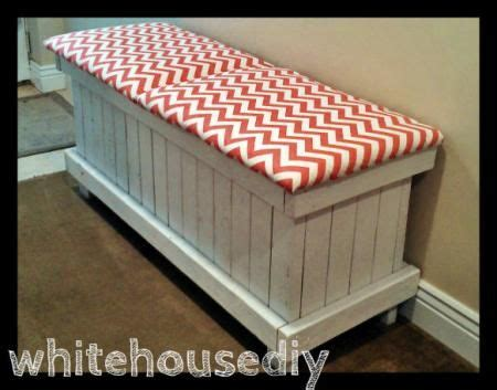 do it yourself storage bench chevron shoe bench do it yourself home projects from ana