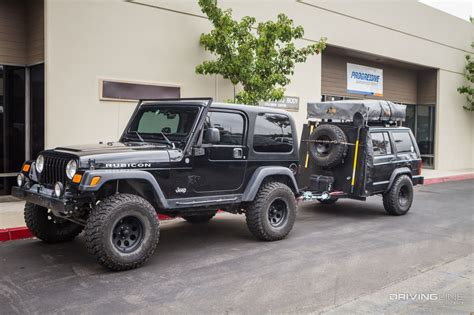 overland jeep setup pack mule how to fit overland essentials in a compact 4x4