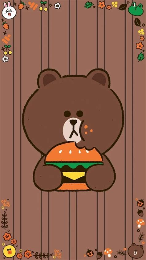 Line Friends Brown 79 best line friends images on line friends
