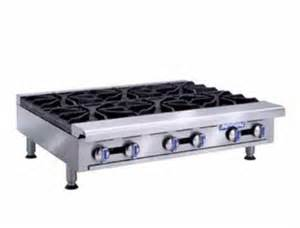 imperial range ihpa 6 36 hotplate countertop gas 6 burners