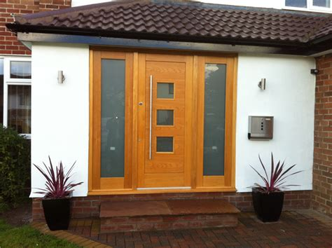 Exterior Doors With Side Panels Ad Joinery And Building Oak Front Door Side Panel