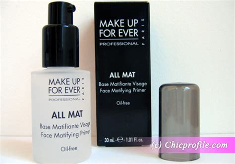 All Mat Makeup Forever review make up for all mat matifying primer