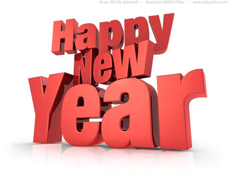 happy new year psdgraphics