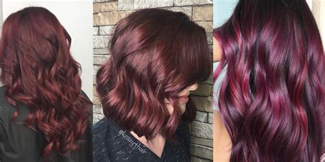steps to doing burgundy hair with brown and caramel highlights is burgundy hair color right for you matrix
