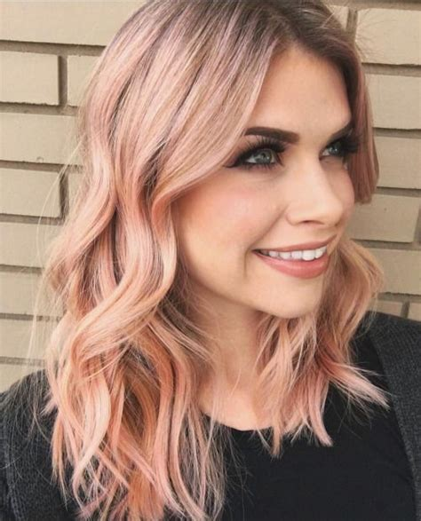 peach hair color ideas hair world magazine