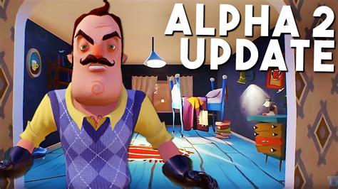 home design game neighbors hello neighbor alpha 2 ep 1 a new alpha 2 update basement footage hello neighbour