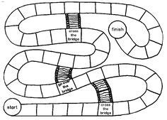 blank race track template free board template homeschool resources