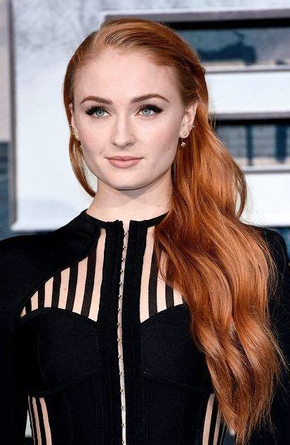 re create tognoni hair color re create sophie turner s red hair color for your salon