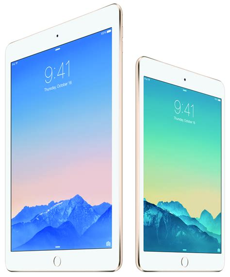 Tablet Apple Air 2 apple unveils the air 2 with touch id