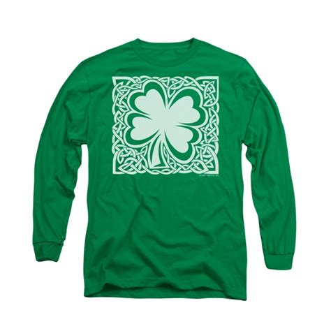 st s day shirt st s day shirt celtic clover sleeve