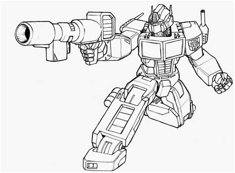 gambar anak tk robot transformer bahasapedia bahasapedia